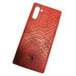 Чехол Santa Barbara Knight для Samsung Galaxy Note 10 (красный, кожаный)
