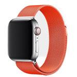 Ремешок для часов Yotrix Milanese Band для Apple Watch 38/40 мм (оранжевый, стальной)