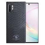 Чехол Santa Barbara Knight для Samsung Galaxy Note 10 plus (черный, кожаный)