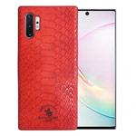 Чехол Santa Barbara Knight для Samsung Galaxy Note 10 plus (красный, кожаный)