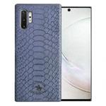 Чехол Santa Barbara Knight для Samsung Galaxy Note 10 plus (синий, кожаный)