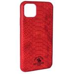 Чехол Santa Barbara Knight для Apple iPhone 11 (красный, кожаный)