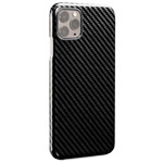 Чехол Synapse Carbon Shell для Apple iPhone 11 pro (черный, карбон)