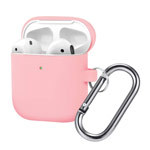 Чехол Synapse Buckle Case для Apple AirPods (розовый, силиконовый)