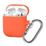 Чехол Synapse Buckle Case для Apple AirPods (персиковый, силиконовый)