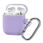 Чехол Synapse Buckle Case для Apple AirPods (сиреневый, силиконовый)