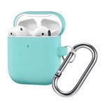 Чехол Synapse Buckle Case для Apple AirPods (бирюзовый, силиконовый)