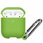 Чехол Synapse Leather Silicone для Apple AirPods (зеленый, силиконовый)