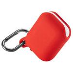 Чехол Synapse Waterproof Case для Apple AirPods (красный, силиконовый)
