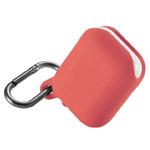 Чехол Synapse Waterproof Case для Apple AirPods (персиковый, силиконовый)