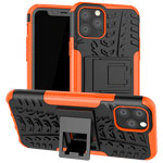 Чехол Yotrix Shockproof case для Apple iPhone 11 pro (оранжевый, пластиковый)