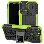 Чехол Yotrix Shockproof case для Apple iPhone 11 pro max (зеленый, пластиковый)