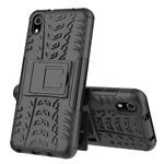 Чехол Yotrix Shockproof case для Xiaomi Redmi 7A (черный, пластиковый)