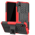 Чехол Yotrix Shockproof case для Xiaomi Redmi 7A (красный, пластиковый)