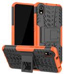 Чехол Yotrix Shockproof case для Xiaomi Redmi 7A (оранжевый, пластиковый)