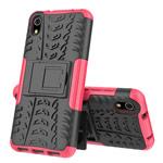 Чехол Yotrix Shockproof case для Xiaomi Redmi 7A (розовый, пластиковый)
