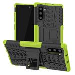 Чехол Yotrix Shockproof case для Samsung Galaxy Note 10 (зеленый, пластиковый)