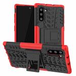 Чехол Yotrix Shockproof case для Samsung Galaxy Note 10 (красный, пластиковый)