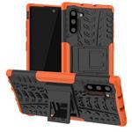 Чехол Yotrix Shockproof case для Samsung Galaxy Note 10 (оранжевый, пластиковый)