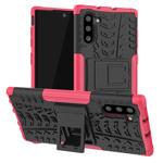 Чехол Yotrix Shockproof case для Samsung Galaxy Note 10 (розовый, пластиковый)