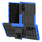 Чехол Yotrix Shockproof case для Samsung Galaxy Note 10 (синий, пластиковый)