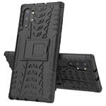 Чехол Yotrix Shockproof case для Samsung Galaxy Note 10 plus (черный, пластиковый)