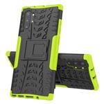 Чехол Yotrix Shockproof case для Samsung Galaxy Note 10 plus (зеленый, пластиковый)