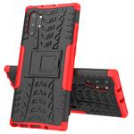 Чехол Yotrix Shockproof case для Samsung Galaxy Note 10 plus (красный, пластиковый)