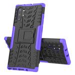 Чехол Yotrix Shockproof case для Samsung Galaxy Note 10 plus (фиолетовый, пластиковый)