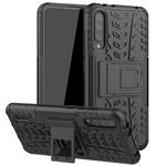Чехол Yotrix Shockproof case для Xiaomi Mi A3 (черный, пластиковый)