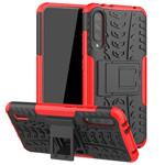 Чехол Yotrix Shockproof case для Xiaomi Mi A3 (красный, пластиковый)