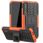 Чехол Yotrix Shockproof case для Xiaomi Mi A3 (оранжевый, пластиковый)
