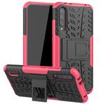 Чехол Yotrix Shockproof case для Xiaomi Mi A3 (розовый, пластиковый)