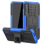Чехол Yotrix Shockproof case для Xiaomi Mi A3 (синий, пластиковый)