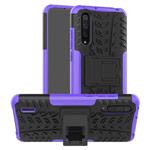 Чехол Yotrix Shockproof case для Xiaomi Mi A3 (фиолетовый, пластиковый)
