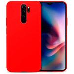 Чехол Yotrix LiquidSilicone для Xiaomi Redmi Note 8 pro (красный, гелевый)