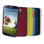 Чехол Jekod Hard case для Samsung Galaxy S4 mini i9190 (желтый, пластиковый)