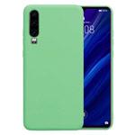 Чехол Yotrix LiquidSilicone для Huawei P30 (зеленый, гелевый)