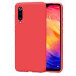 Чехол Yotrix LiquidSilicone для Xiaomi Mi 9 (красный, гелевый)