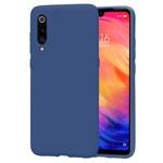 Чехол Yotrix LiquidSilicone для Xiaomi Mi 9 (темно-синий, гелевый)