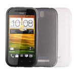 Чехол Jekod Soft case для HTC Desire SV T326e (белый, гелевый)