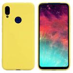 Чехол Yotrix LiquidSilicone для Xiaomi Redmi Note 7 (желтый, гелевый)