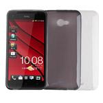 Чехол Jekod Soft case для HTC Butterfly S 901e (белый, гелевый)