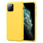 Чехол Yotrix SoftCase для Apple iPhone 11 pro (желтый, гелевый)