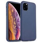 Чехол Yotrix SoftCase для Apple iPhone 11 pro (темно-синий, гелевый)