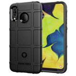 Чехол Yotrix RuggedShield для Samsung Galaxy A30 (черный, гелевый)