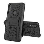 Чехол Yotrix Shockproof case для Huawei P smart Z (черный, пластиковый)