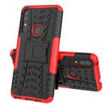 Чехол Yotrix Shockproof case для Huawei P smart Z (красный, пластиковый)