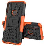 Чехол Yotrix Shockproof case для Huawei P smart Z (оранжевый, пластиковый)
