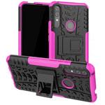 Чехол Yotrix Shockproof case для Huawei P smart Z (розовый, пластиковый)